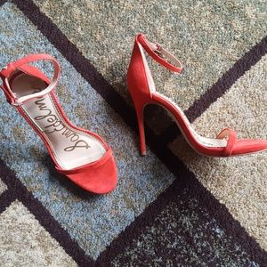 e61d5d80c64 Sam Edelman Ariella Candy Red Womens Heels Nadya